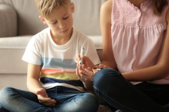 Diabetes bei Kindern photo overview